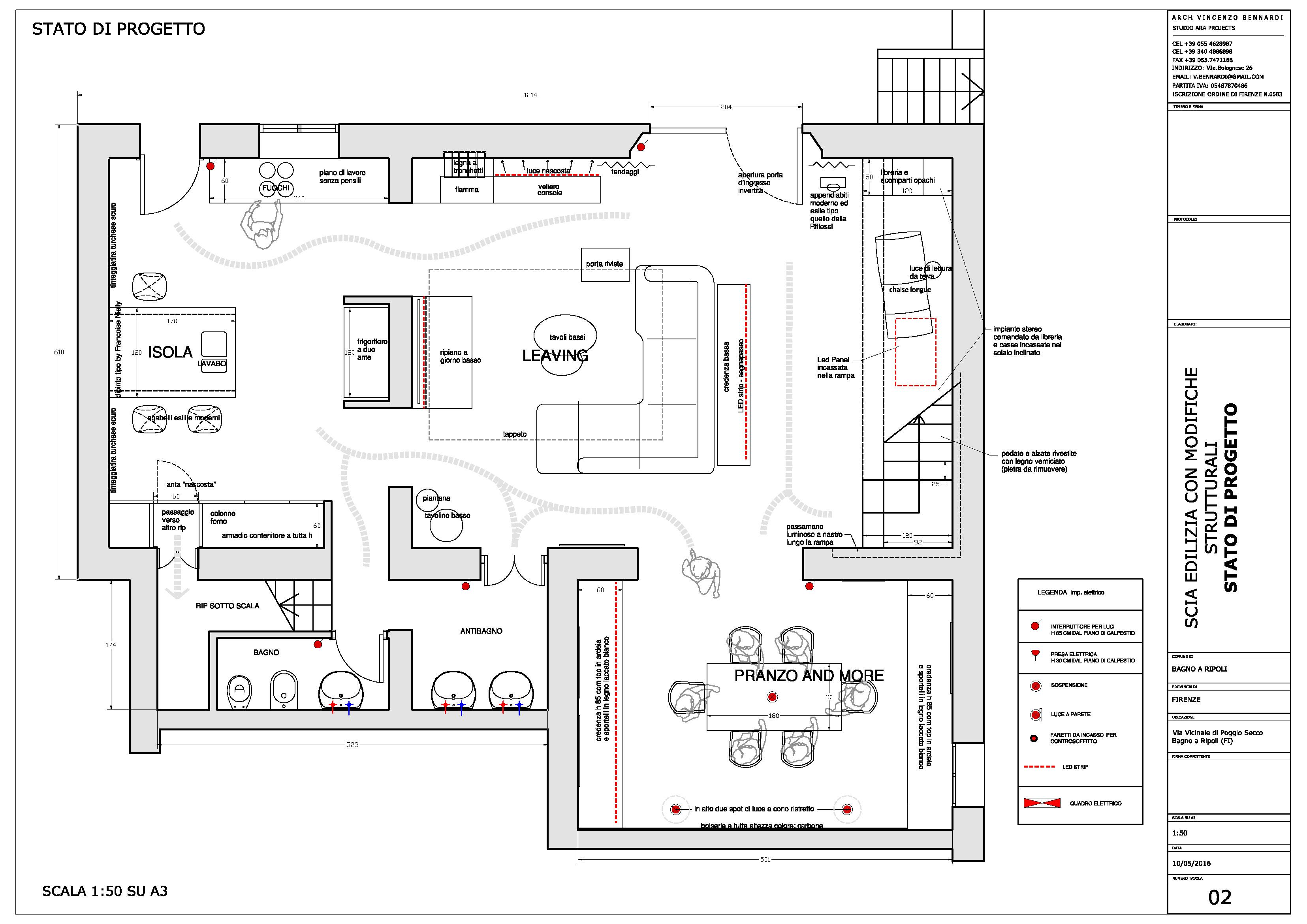 Progetto villa 7 - Bagno barriere architettoniche ...